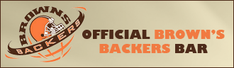 Official Brown's Backers Bar
