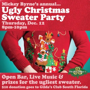 Ugly Sweater Christmas Party- Benefiting Gilda's Club