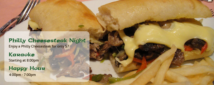Philly Cheesesteak Night