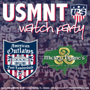 USA vs Colombia- Watch Party