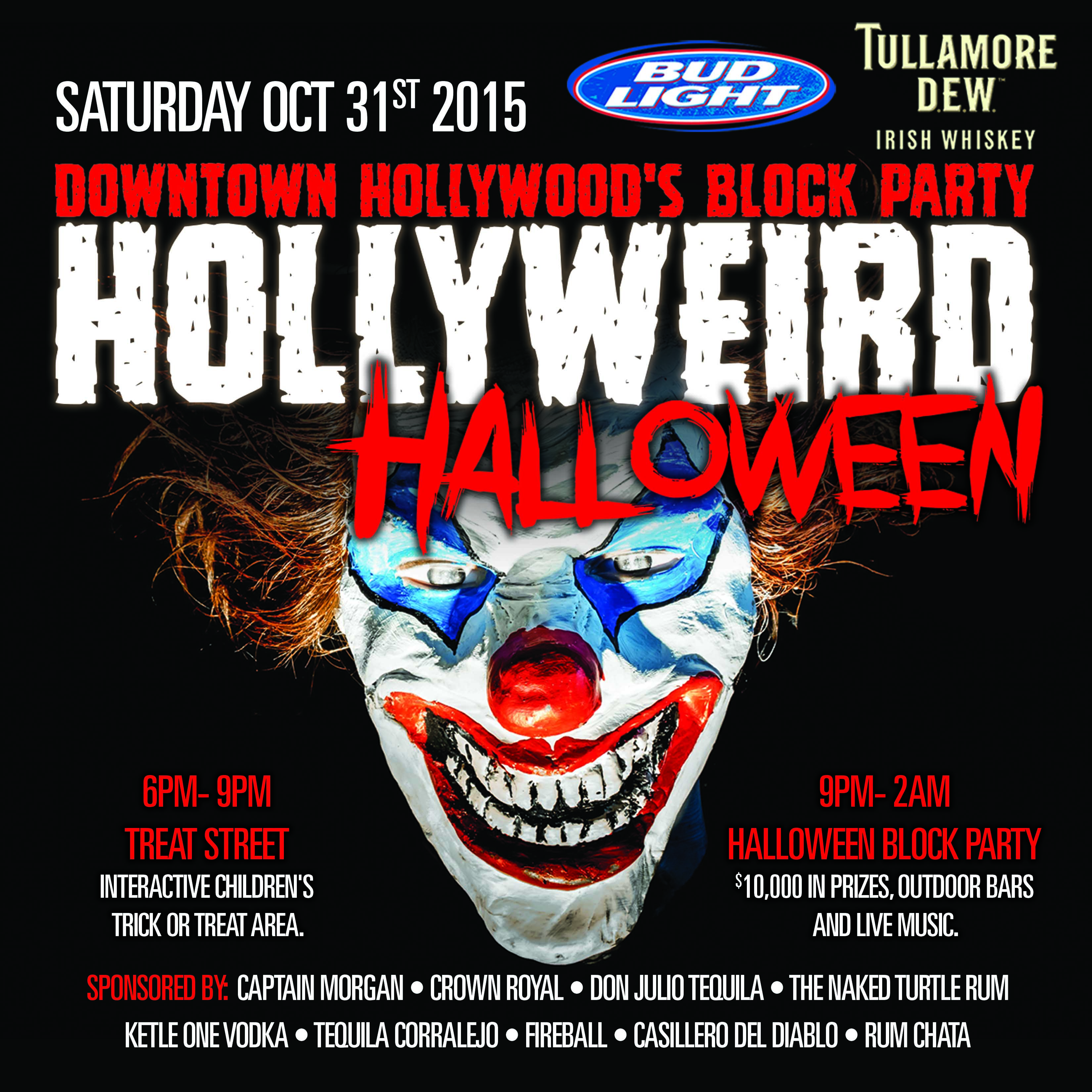 Hollyweird- Halloween Block Party | Mickey Byrne's