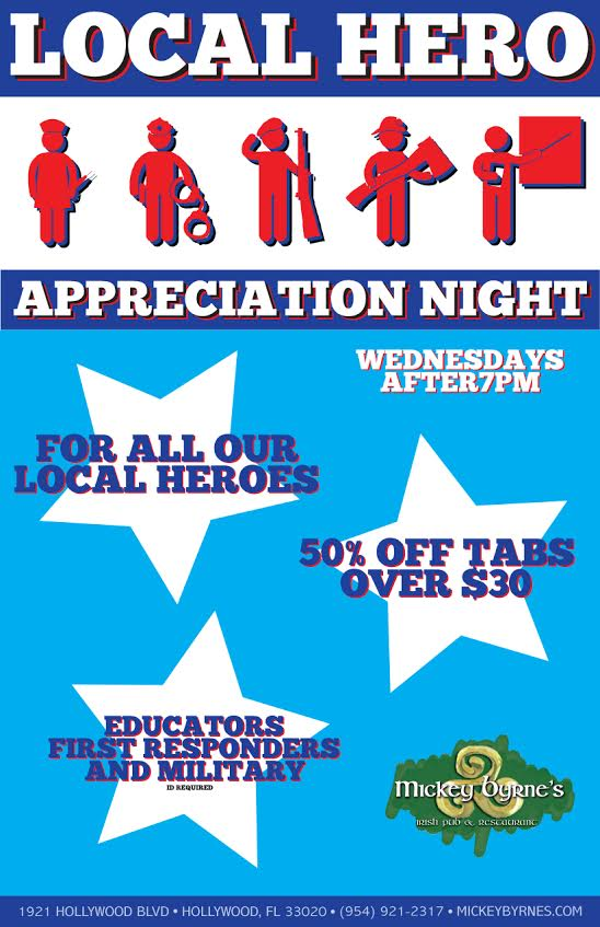 Local Hero Appreciation Night