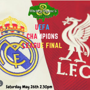 UEFA Champions League Final-Liverpool vs Real Madrid