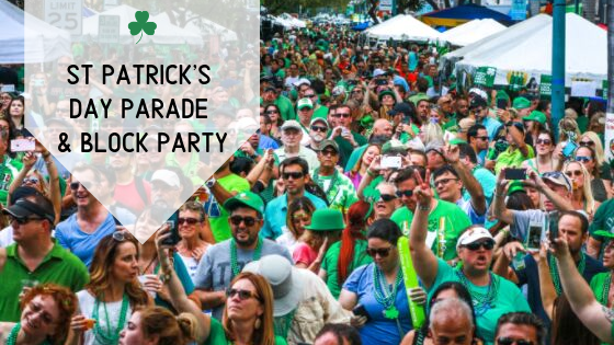 St. Patrick's Day Parade and Downtown Block Party