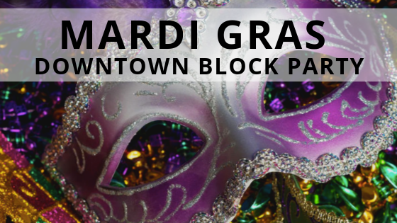 Mardis Gras in Downtown Hollywood