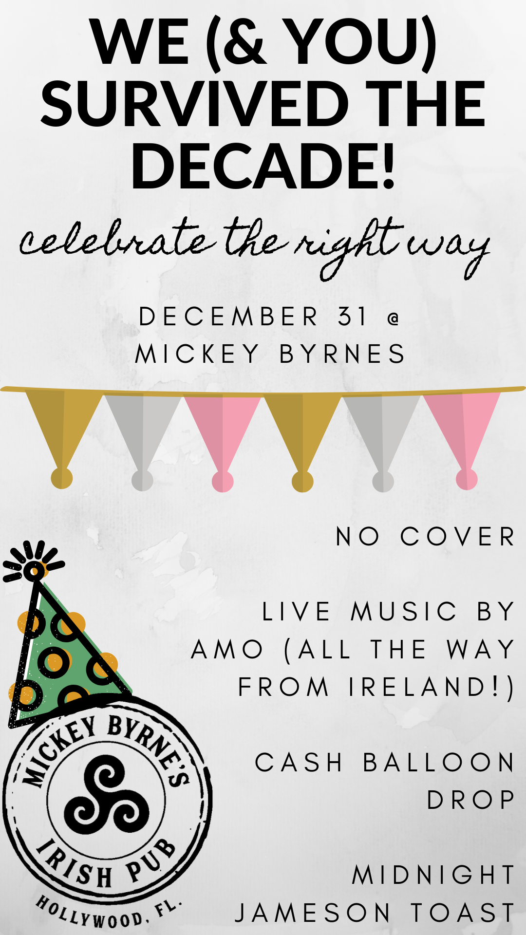new years eve mickey byrnes